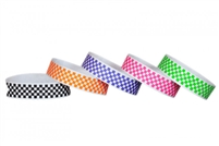 Checker Wristbands (500pk)