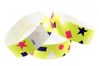 Yellow Confetti Wristband (500pk)