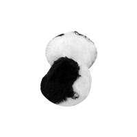 Black and White Pom Poms