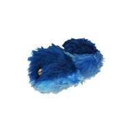 Mini Royal Blue and Light Blue Pom-Poms