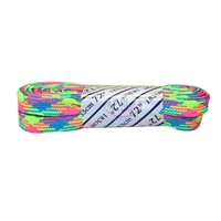 Rainbow Plaid Laces