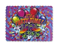 Party Time Placemats (glows under black light)