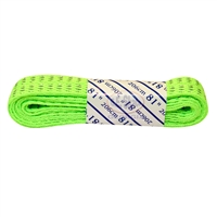 Reflective Neon Green Laces