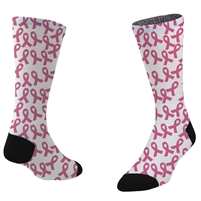 Breast Cancer Awareness Sox