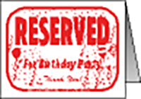 "Reserved Birthday Table Tent (6""x8"")"