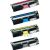 Premium Compatible Minolta 1710587-004, 1710587-007, 1710587-006, 1710587-005 Color Laser Toner Cartridge Set