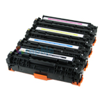 Premium Compatible Canon 118 (2662B001AA, 2661B001AA, 2660B001AA, 2659B001AA) Color Laser Toner Cartridge Set