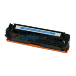 Premium Compatible HP CB541A (125A) Cyan Laser Toner Cartridge