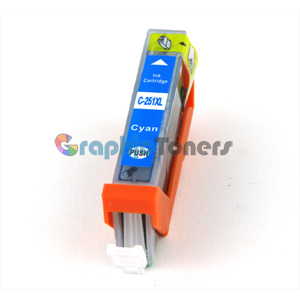 Premium Compatible Canon CLI-251C Cyan Ink Cartridge