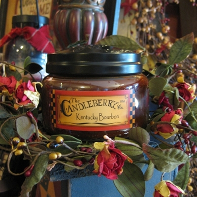 Kentucky Bourbon Candleberry Candle Sm
