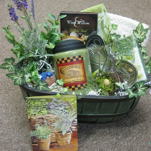 Gardening Gift Basket Ideas gardening gift basket love this idea for mothers day but id use Herb Gardenkitchen Gift Baskets