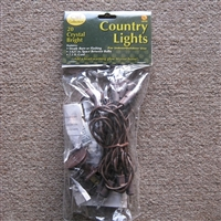 Brown Cord Lights 20 Strand