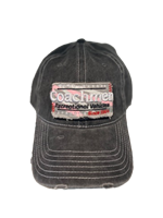 Gray Distressed Cap