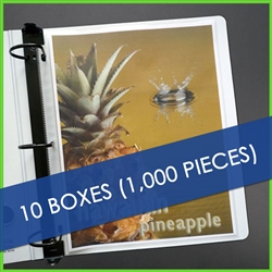 1000 Sheet Protectors Clear - Bulk Price