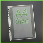 A4 Sheet Protectors Heavy Weight Quality
