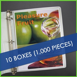 Total of 1,000 pcs. of heavyweight sheet protectors