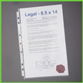 Legal Size Sheet Protectors for 8-1/2 x 14 paper