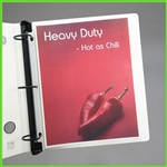 Non Glare Heavyweight Sheet Protectors - Low Reflective Anti Glare