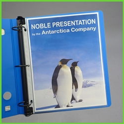 Super Clarity Presentation Sheet Protectors - Heavy Duty Sheet Protectors