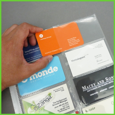 Tabbed business card pages color or white tabs tabbed business card pages colourmoves