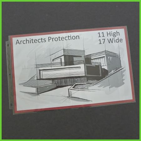 11x17 Sheet Protectors 25 Pk