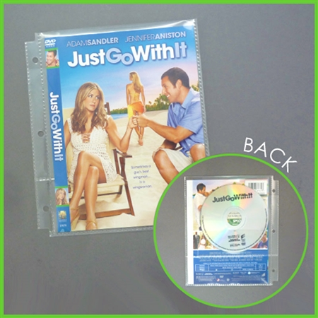 Alternative Views  sc 1 st  Keepfiling & DVD Pages for Mini Binder - 20/Pack