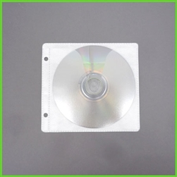 CD Sleeves for Binders with 2 Holes