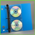 CD Ring Binder Storage Pages for Organizing CDs