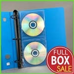 Sale 55% Off of CD Binder Pages for organizing CDs