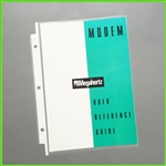 Mini Page Protectors 5.5 x 8.5 Small - Heavyweight Quality