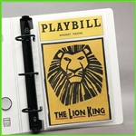 Playbill Binder Sleeves - 5.5 x 8.5 Extra Heavyweight Sheet Protectors