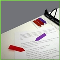 Adhesive Pointing Flags for attachment to Ring Binder Cover