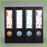 Bubbles Design Spine Label Set 3