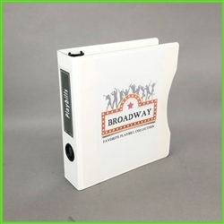 Free binder cover template artwork for Playbills Binder Set