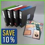 12 x 12 Scrapbook Album with Clear Page Protectors