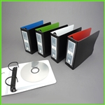 Small CD Holder - Mini CD Binder Set for 96 CD s