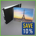 3-Ring 11x14 Portfolio Book with Clear Pages