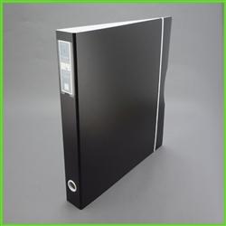 14 x 17 Binder in Portrait View Format with Label Holder at Spine