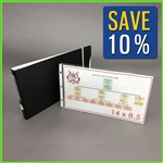 Horizontal Legal Size Landscape Binder Set with Sheet Protectors