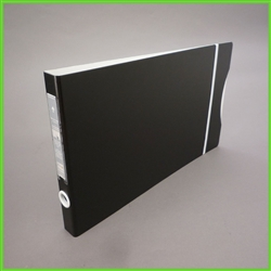 "3/4"" Slim 3 Ring Binder in Landscape Format for 14 x 8.5 Documents"