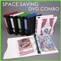 DVD Storage Binder Set for 20 DVDs & Movie Covers