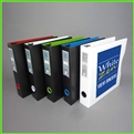 3 Ring Binders 1.5 - Letter Size 3d Ring Binder Extra Wide for Tabs and Plastic Sheet Protectors