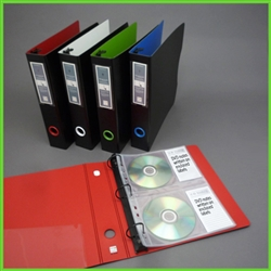 CD Binder Kit for professional CD binder storage organizing with Index labels
