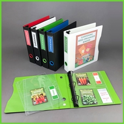Seed Package Organizer | Gardening Binder | Garden Journal