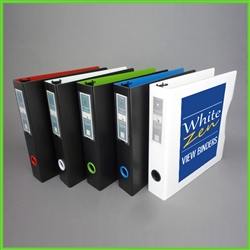 1.5 3 Ring Binders - Letter Size 3d Ring Binder Extra Wide for Tabs and Plastic Sheet Protectors