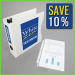 5.5 x 8.5 Presentation Mini Binder Kit