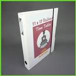 11x17 View Binder - White Zen View Binder™