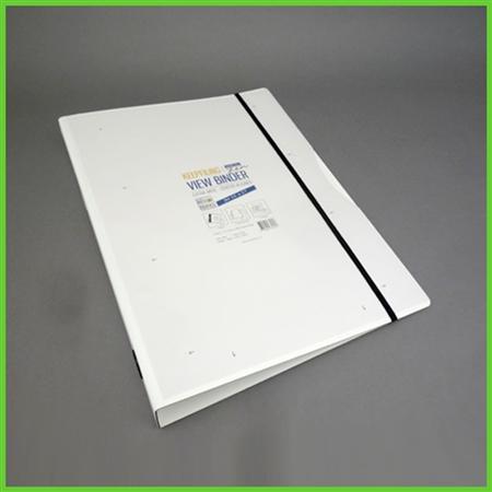 White Zen View Binder™   11 x 17 View Binder   Tabloid ...