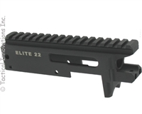 MATTE BLACK ELITE22™  BILLET PRECISION MACHINED REPLACEMENT 10/22® RECEIVER