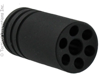 BLACK FLASH HIDER FOR RUGER® 10/22® THREADED .920 BULL BARRELS